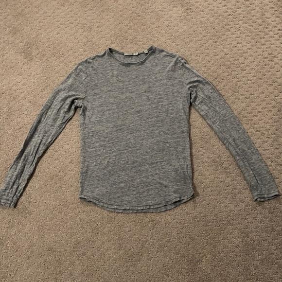 Vince long sleeve Linen shirt
